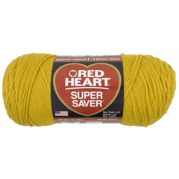 Red Heart Super Saver Yarn - Gold