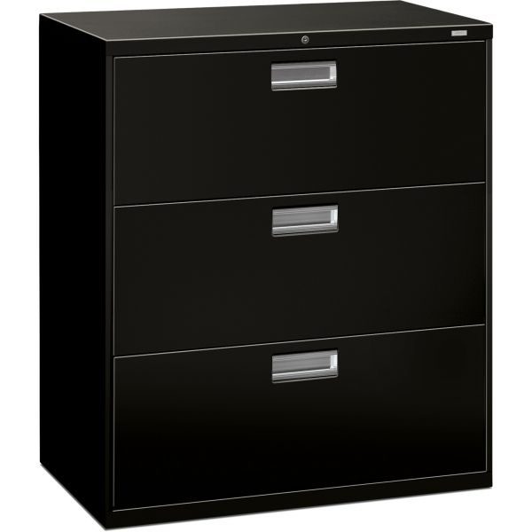 HON 600 Series 3-Drawer Lateral File Cabinet