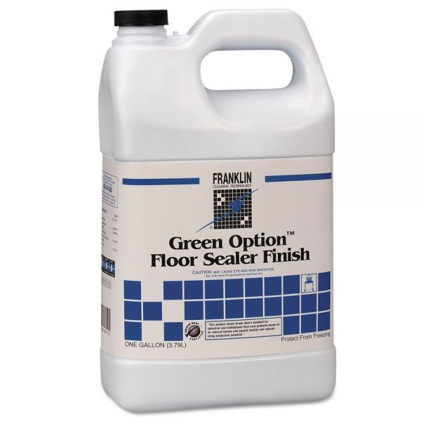 Franklin Cleaning Technology Green Option Floor Sealer/Finish, 1 gal Bottle, 4/Carton