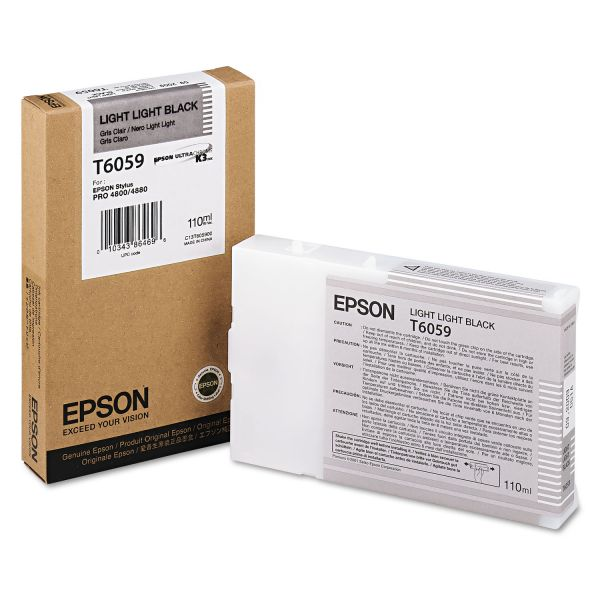 Epson T6059 Light Light Black Ink Cartridge (T605900)