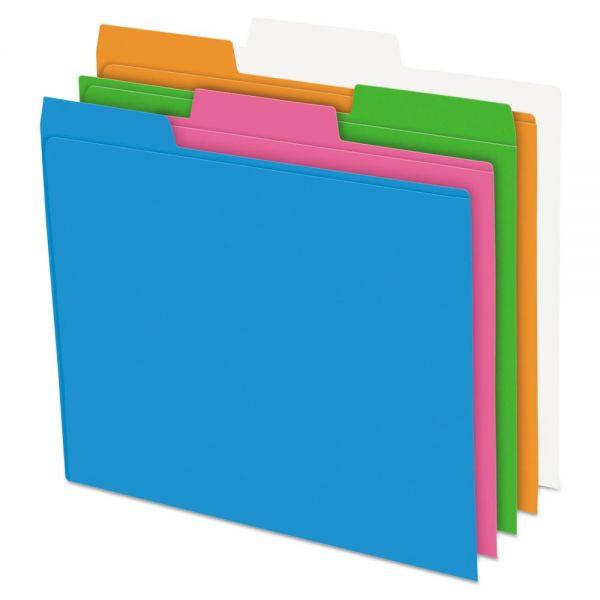 Pendaflex Glow Poly File Folders