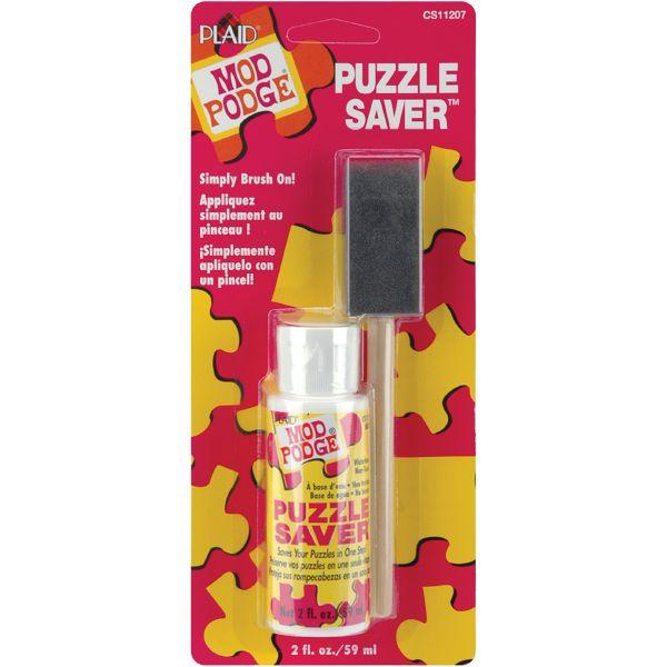 Mod Podge Puzzle Saver W/Foam Brush
