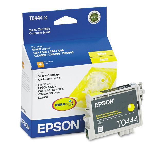 Epson T044420 (44) DURABrite Ink, Yellow