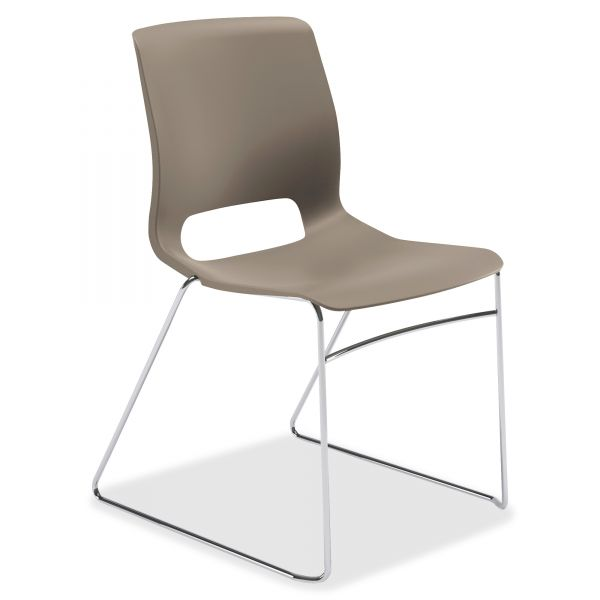 HON Motivate Series Sled-Based Stacking Chairs