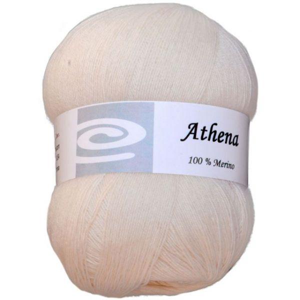 Elegant Athena Yarn - White