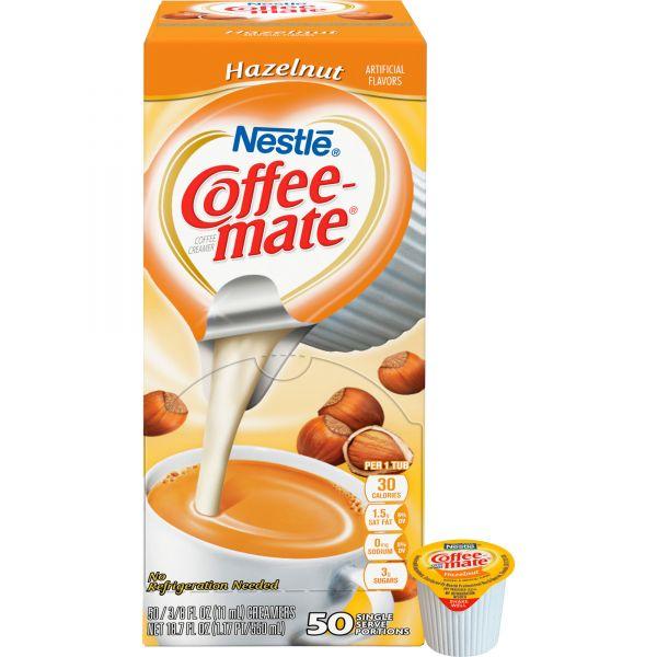 Coffee-Mate Hazelnut Coffee Creamer Mini Cups