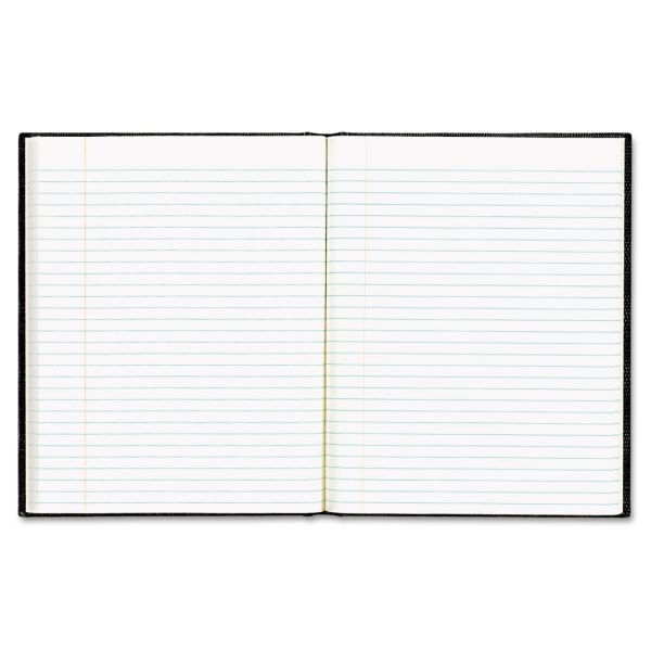 Blueline EcoLogix Notebook, 9 1/4 x 7 1/4, College Ruled, Hard Cover, White, 75 Sheets