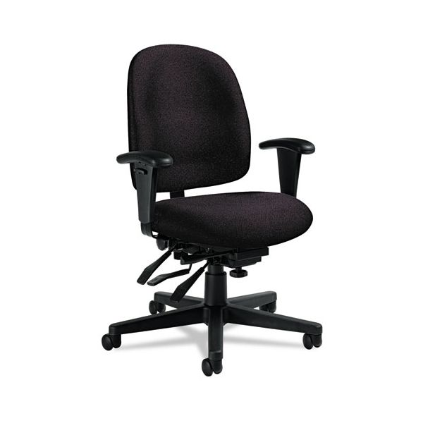 Global Granada Series Low-Back Multi-Tilter Office Chair