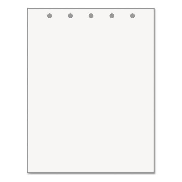 PrintWorks Professional 5-Hole Punched Office Paper, 20 lb, 8 1/2 x 11, White, 500 Sheets/Ream