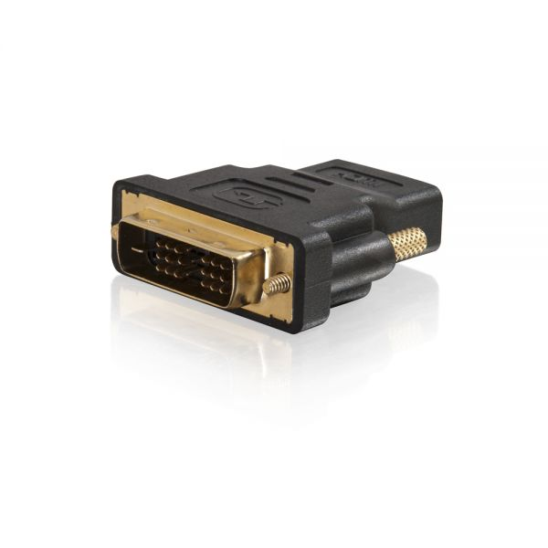 C2G DVI-D to HDMI Inline Adapter for HDTVs - M/F