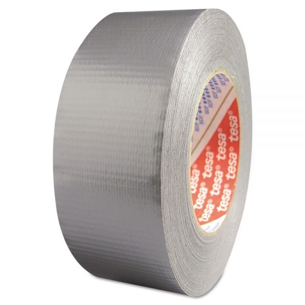 "tesa Industrial Grade Duct Tape, 2"" x 60yd, Silver"