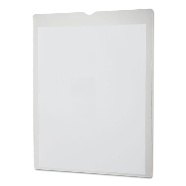 Oxford Utili-Jac Heavy-Duty Clear Plastic Envelopes, 8 1/2 x 11, Letter, 50/Box