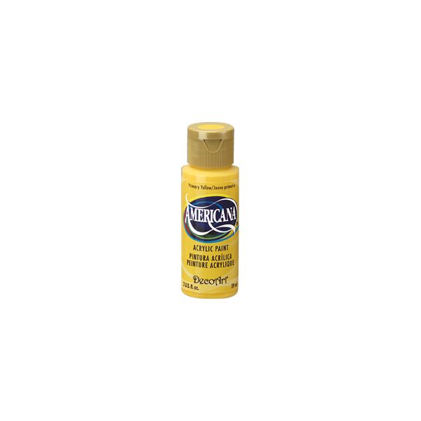 Deco Art Americana Primary Yellow Acrylic Paint
