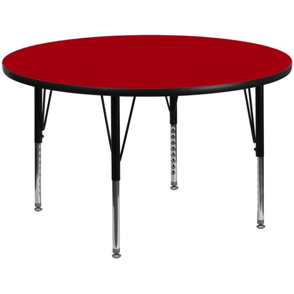 Flash Furniture Adjustable Height Round Activity Table
