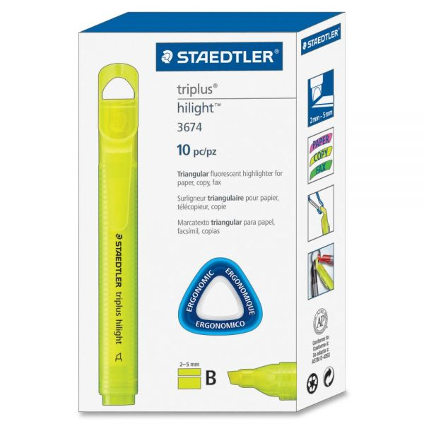 Staedtler Triplus Broad Tip Fluoresct Highlighter