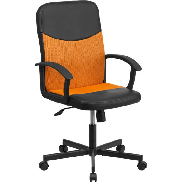 Flash Furniture Mid-Back Racing Executive Swivel Office Chair