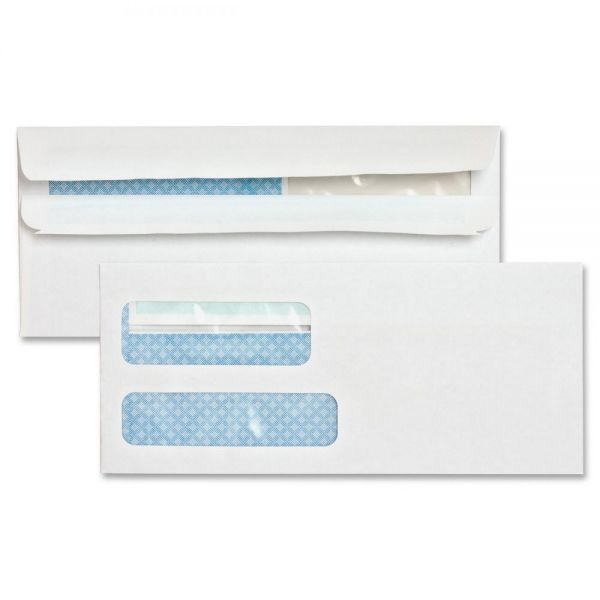 Sparco Double Window Invoice Envelopes