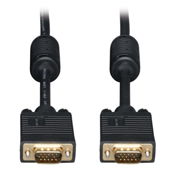 Tripp Lite VGA Coax Monitor Cable, High Resolution cable with RGB coax