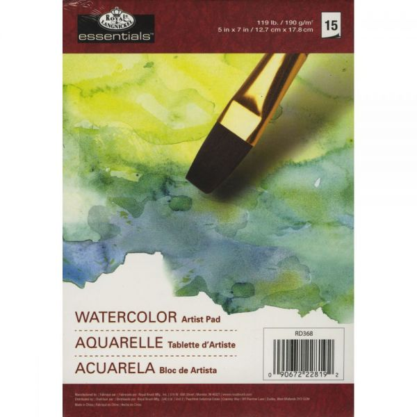 Essentials Watercolor Artist Paper Pad