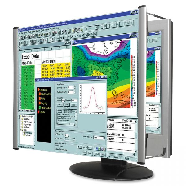 "Kantek LCD Monitor Magnifier Filter, Fits 22"" Widescreen LCD, 16:9/16:10 Aspect Ratio"