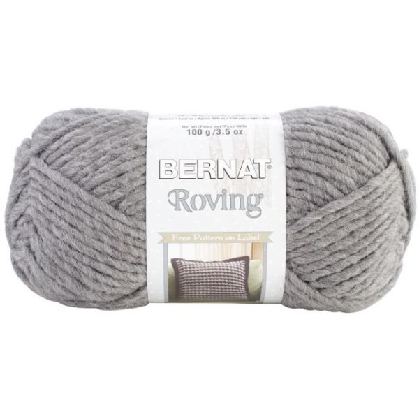 Bernat Roving Yarn - Dark Gray