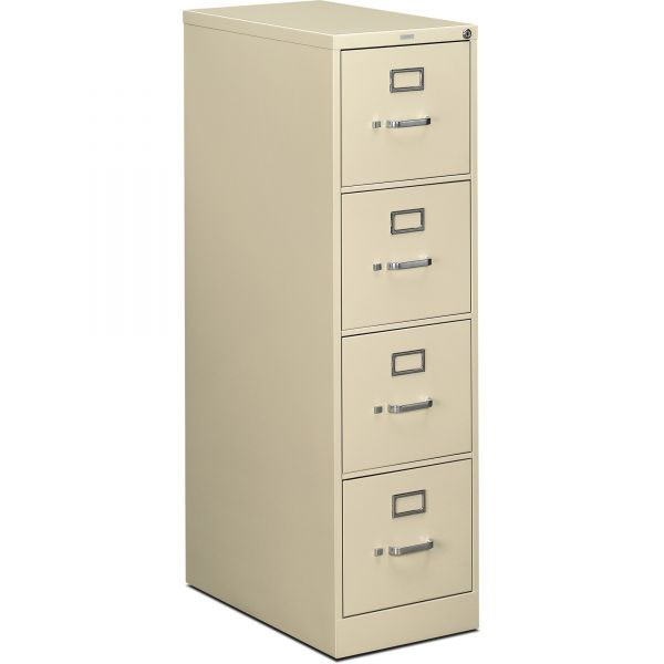 HON 510 Series 4 Drawer Locking Vertical File Cabinet