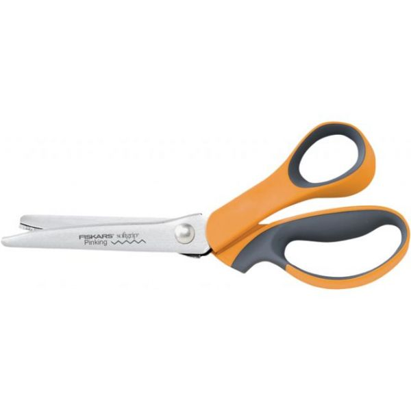 Softgrip Pinking Fabric Shears 9.5""