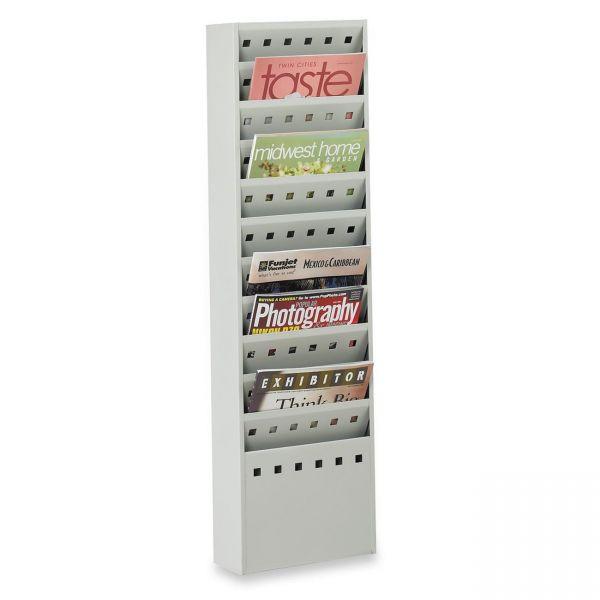 Safco 11 Pockets Magazine Rack