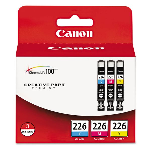 Canon CLI-226 Color Combo Pack Ink Cartridges (4547B005)