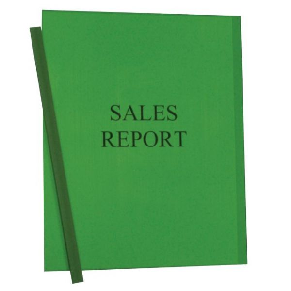C-Line Vinyl Report Covers with Binding Bars