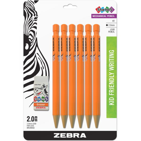 Zebra Cadoozles Beginners Mechanical Pencils