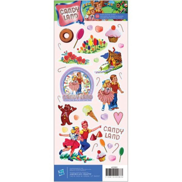 "Cardstock Stickers 4.75""X12"" Sheet"