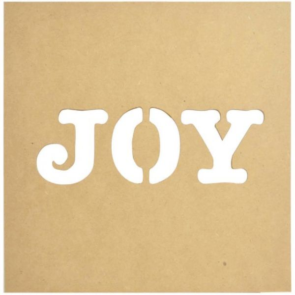 Beyond The Page MDF Joy Silhouette Wall Art Frame