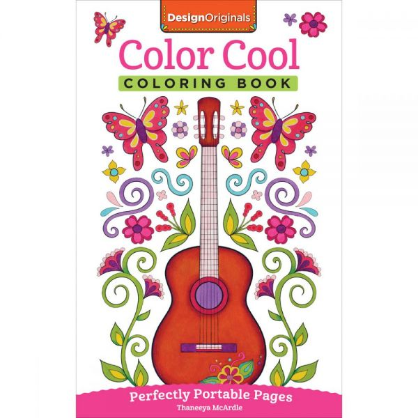 Design Originals: Color Cool Coloring Book