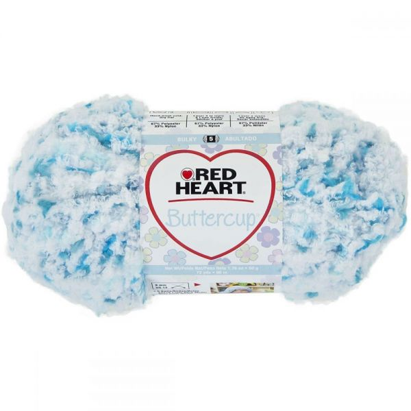 Red Heart Buttercup Yarn - Aqua Ice