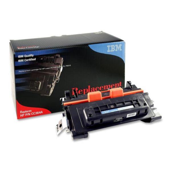 IBM Remanufactured HP CC364A Black Toner Cartridge