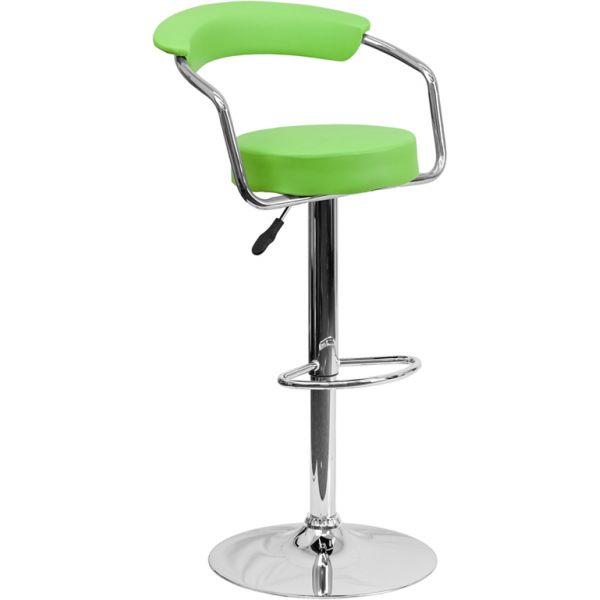 Flash Furniture Contemporary Barstool with Arms