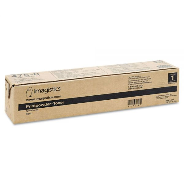 Pitney Bowes 4776 Toner, 100000 Page-Yield, Yellow