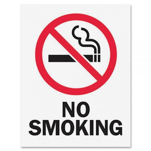 Tarifold Magneto Safety Sign Inserts-No Smoking