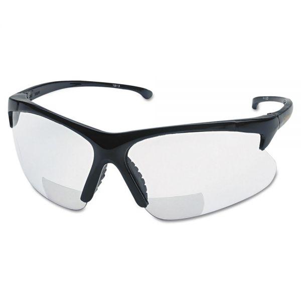 Smith & Wesson V60 30 06 Reader Safety Eyewear, Black Frame, Clear Lens