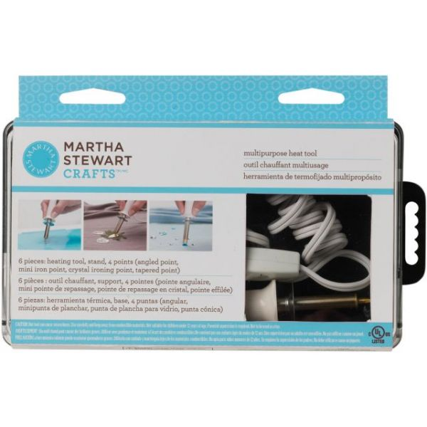 Martha Stewart Multipurpose Heat Tool W/4 Tips