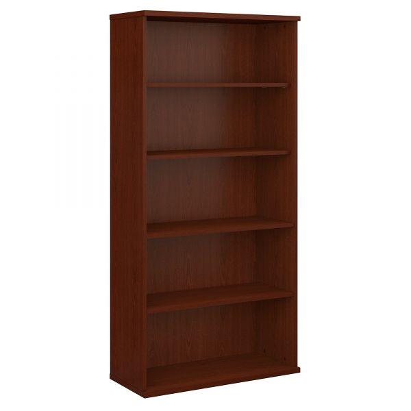 Bush Series C Collection 36W 5 Shelf Bookcase, Mahogany