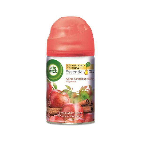 Air Wick Freshmatic Ultra Automatic Spray Refill, Apple Cinnamon Medley, Aerosol, 6.17 oz