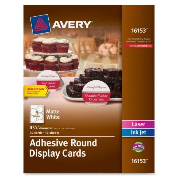 Avery Inkjet, Laser Print Tent Card