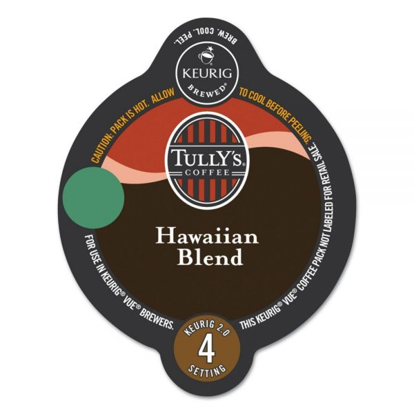 Tully's Coffee Hawaiian Blend Coffee Vue Pack