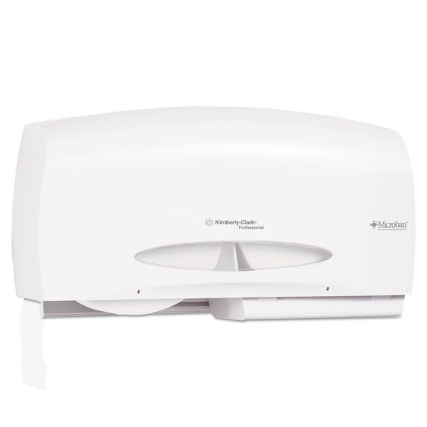 Kimberly-Clark Professional Coreless JRT Twin Toilet Paper Dispenser