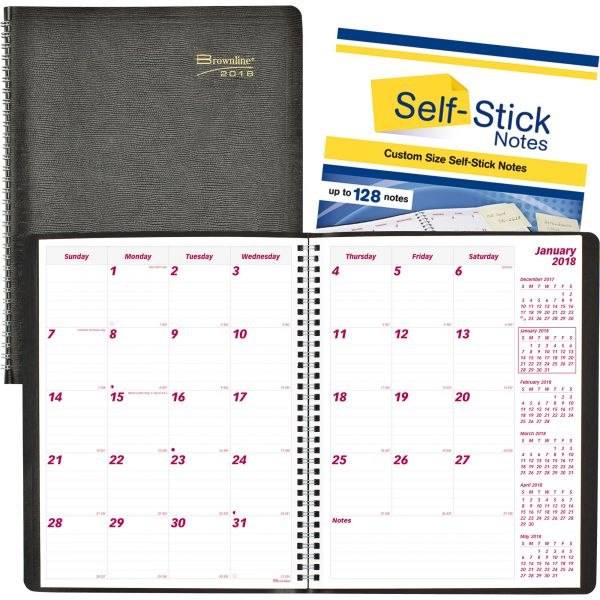 Brownline PlannerPlus 14-Month Monthly Planners