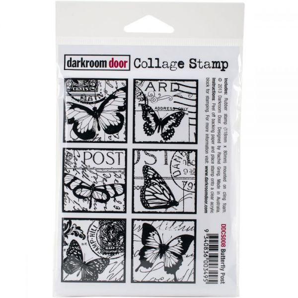 "Darkroom Door Cling Stamp 4.5""X3"""