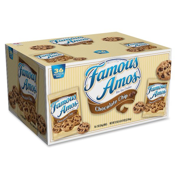 Famous Amos Cookie Pouches