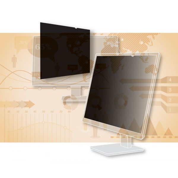 "3M PF25.0W9 Privacy Filter for Widescreen Desktop LCD Monitor 25.0"" Black"